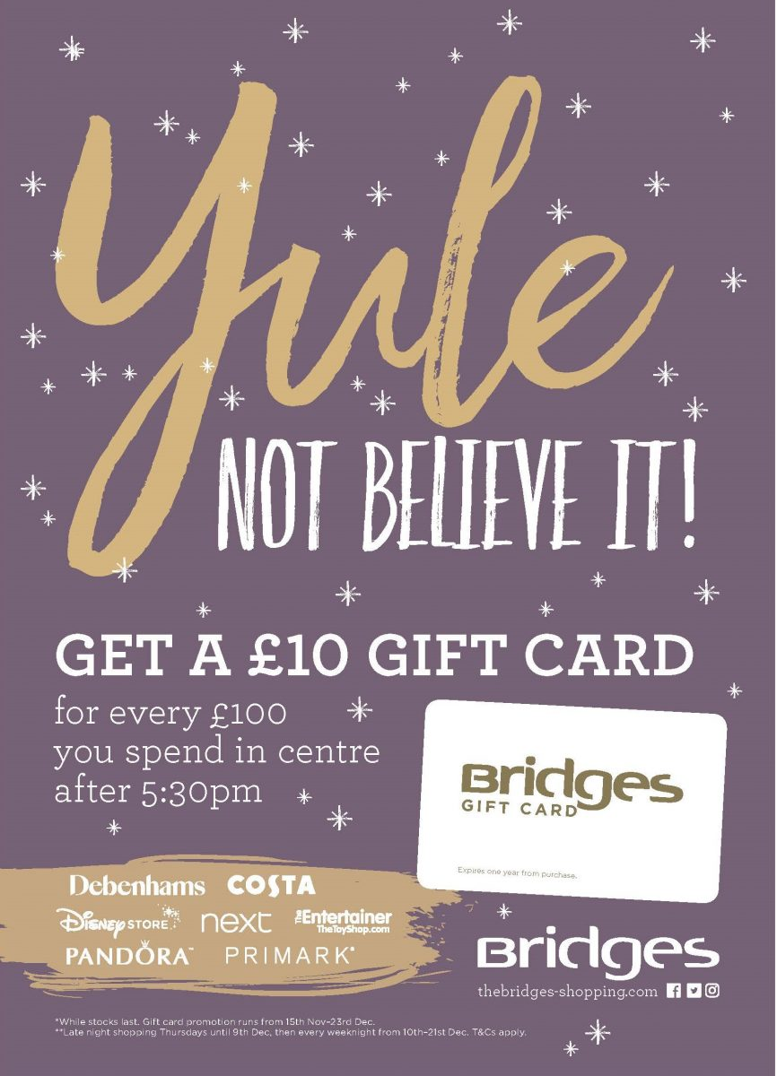 Christmas Gift Card Poster.28024 3 Sf Bridges Christmas 18 Gift Card Poster A4 Lr The